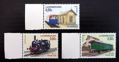 LUXEMBOURG 2005 Railways SG1715-17 Cat £17 U/M NB4924