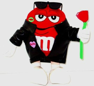 M&M RED PEANUT Soft Plush Stuffed Candy Doll Toy M&Ms      BEST OFFERS WELCOMED!