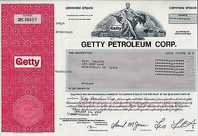 Getty Petroleum Corp., Delaware, 1997 (10 Shares)