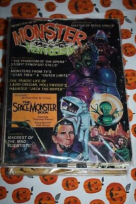 Monster Fantasy Magazine In Very Good Condition!!!!