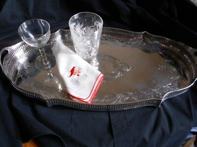 Silver Gallery Coctail Tray 1923 Era
