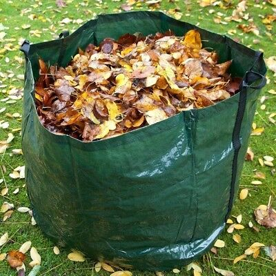 Extra Strong 150L Garden Waste Bags  Heavy Duty Large Refuse Sacks with Handles