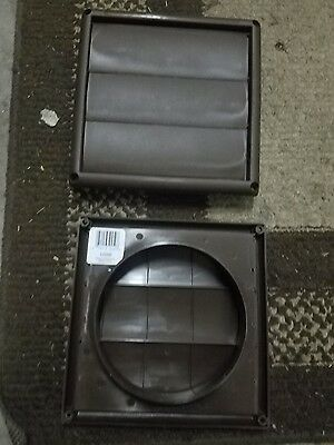 2 Brand New Deflecto Hs6B Brown Vent Hood Or All