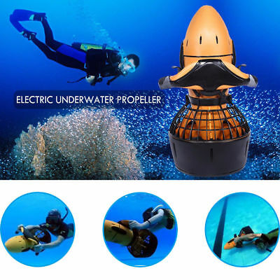 HOT! Underwater 300W Electric Sea Scooter Dual Speed Propeller Diving Snorkeling