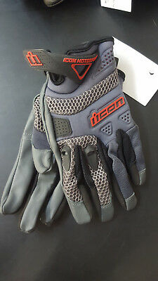 New Icon Anthem Grey Glove Men's Fit | Large |