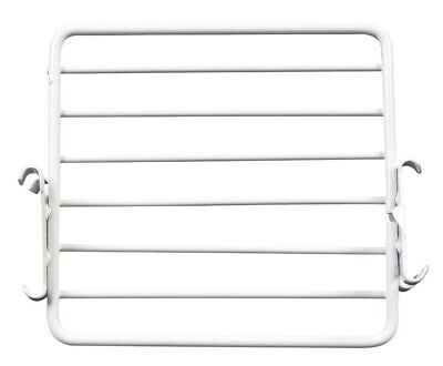 Lozier Wire Bin X Divider 3 In. X 4 In. For Use With Lozier Shelving Silver Pack