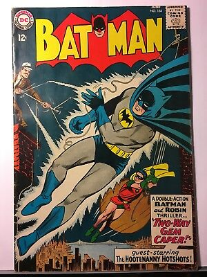 1964 DC Batman #164 First New Look VG+ Yellow Oval