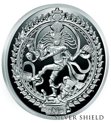 2017 1oz .999 Silver Shield - Death Of The Dollar #8 - NATARAJA DOLLAR - BU