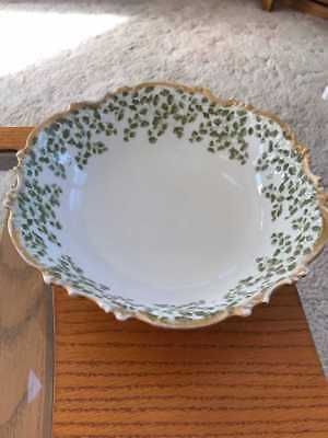 Limoges Ovington Bros. serving bowl from France-Gorgeous