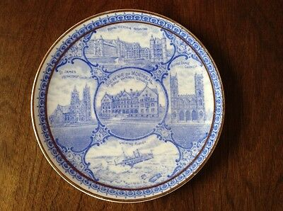 The Rowland & Marsellus Co. Souvenir Of Montreal Plate