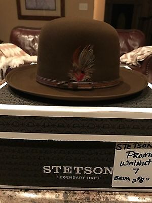 "Stetson ""promo"" Walnut Size 7 Open Crown !"