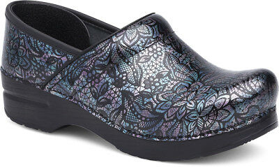 Dansko Professional Clog Henna Floral Patent Women's sizes 36-42/6-12 NEW