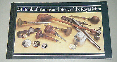 Story of the Royal Mint - GB Royal Mail Prestige Stamp Book 1984 DX4
