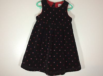 89ca080c1 OLD NAVY BABY girl's dress size 4T black new floral pattern 74 ...