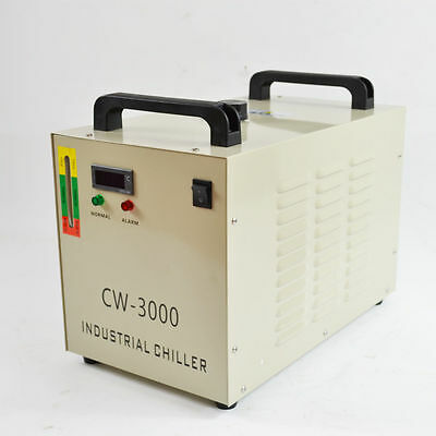 220V Thermolysis Industrial Water Chiller for 60/80W CO2 Glass Tube CW-3000DG