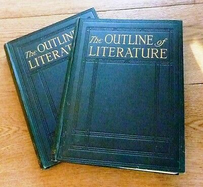 The Outline Of Literature Edited By John Drinkwater 2 Wolums