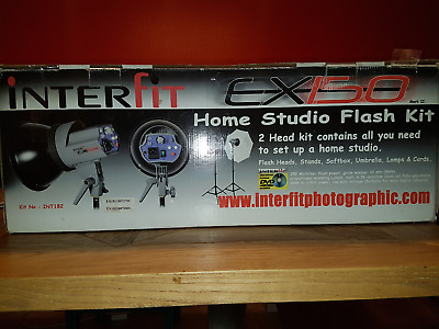 Interfit EX150 Home Studio Flash Kit