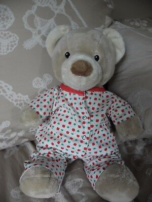 Pyjamas to fit 15 inch Pumpkin Patch teddy bear girls  clothes build a bear