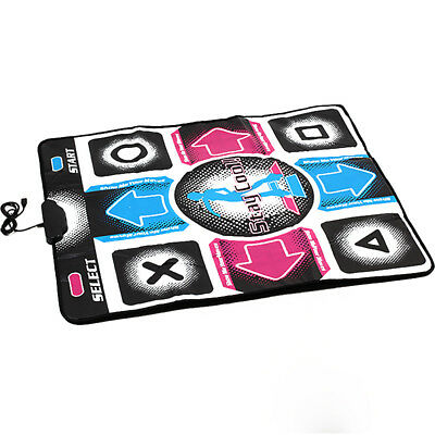 USB Dancing Mat For PC Video Games Gaming DDR Dance Pad Revolution Non Slip