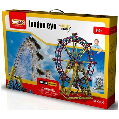 Engino London Eye Mega Structures With Power Motor Brand New