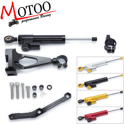 Steering Damper Stabilizer Linear Bracket kits for YAMAHA FZ-09 MT-09 2013-2017