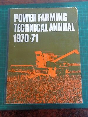 Vintage POWER FARMING TECHNICAL ANNUAL  1970-71