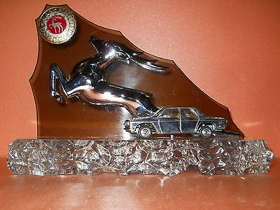 Soviet Souvenir GAZ Volga Deer Scale model Hood ornament emblem Made in USSR.