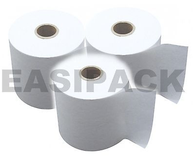20 x (57x40mm) Thermal Till Rolls Credit Card PDQ paper