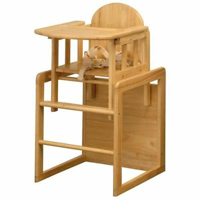 East Coast Nursery Combination Wooden Baby Highchair Toddler Table 6 Months +