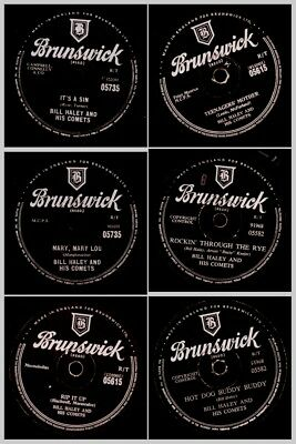 "3x BILL HALEY  ""JUKEBOX-HITS"" -SONDERPREIS- ""Rockin' through the Rye""   Set707"