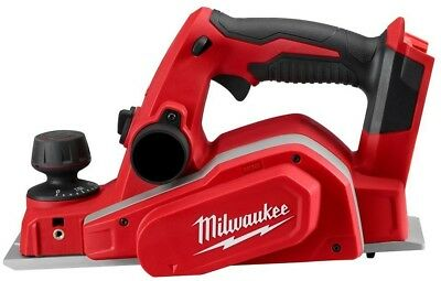 Cordless Planer M18 3-1/4 In. Dual Blade Cutting Head Powerful Woodworking Tool