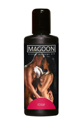 Magoon Rose Aroma Massageöl 100 ml Erotik Erotisch Wellness Masage Öl Sex