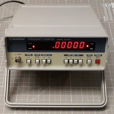 Frequenzzähler LG Goldstar FC-7011 100 MHz Frequency Counter