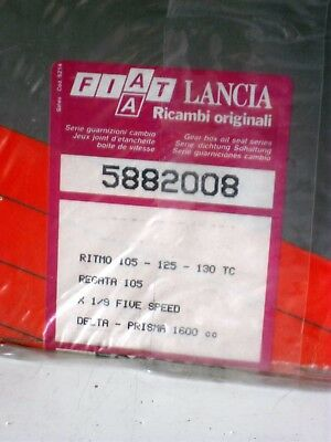 Serie Guarnizioni Cambio Ritmo 105 125 130 Tc  Fiat X19 Five Speed Fiat 5882008