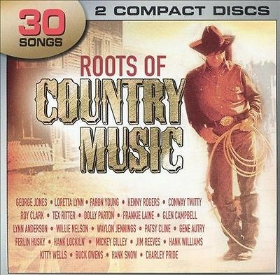 Roots of Country Music by Various Artists (CD, Apr-2005, 2 Discs, Legacy)