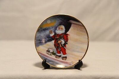 Duncan Royale History of Santa Claus Mini Plate Ornaments by Thomas Nast Limited