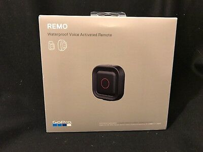 GoPro Remo Waterproof Voice Activated Remote Official Accessory w/ Housing/Strap