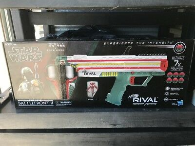 NERF Rival Apollo XV-700 Blaster Star Wars Gamestop Excl. w/ Mask