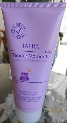 Jafra Tender moments Lavender & Chamomile Massage Cream 6.7 OZ New & sealed