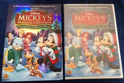 mickeys magical christmas snowed in at the house of mouse dvd slipcover disney - Mickey Magical Christmas
