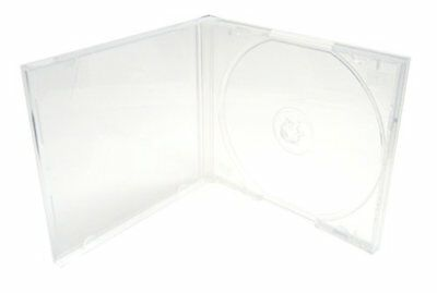 Mediaxpo Brand 25 STANDARD Clear Single VCD PP Poly Cases 10.4MM