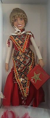 Effanbee 1997 Carol Channing Collectible in Box Doll