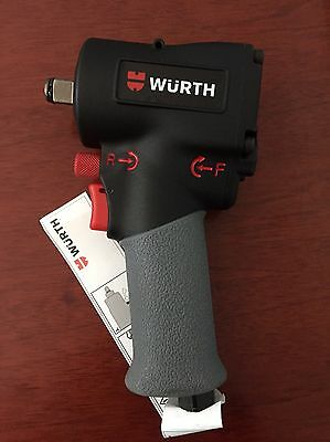 "WURTH 1/2"" Mini Impact Wrench 1100NM Torque Snap On Rattle Gun"