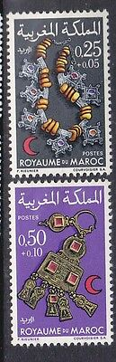 MOROCCO	SG 287-8	1970	Jewellery Set of 2		MH
