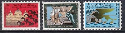 MOROCCO	SG 318-20	1972	Save Venice Set of 3		MH