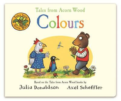 NEW Colours By Julia Donaldson Board Book Free Shipping