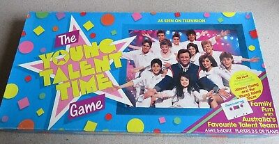 'The Young Talent Time' Board Game (1987)