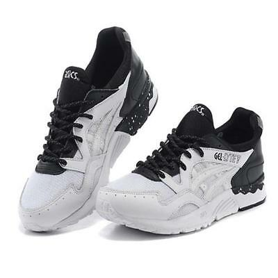 Asics Gel Lyte Mens Trainers Lights And Shadows White Black Sports Shoes