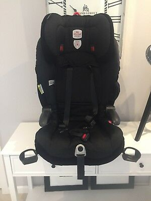 Britax Safe n Sound Maxi Rider AHR Easy Adjust Black Convertible Booster Carseat
