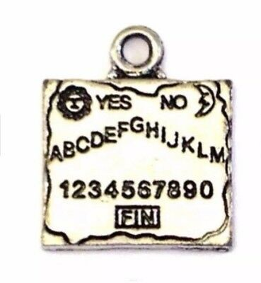 """Qty 1 """"Funeral Hearse"""" Chubby Chico Pewter Charm Top Loop 24x8mm LEAD FREE"""